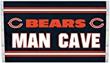 Nfl Man Cave Flag: Chicago Bears *** Product Description: Nfl Man Cave Flag: Chicago Bearsshow Everyone That You Are A Die-Hard Fan By Hanging Up This 3-Foot X 5-Foot Nfl Man Cave Flag . This Officially Licensed Flag Is Made Of Durable, 100% Poly ***