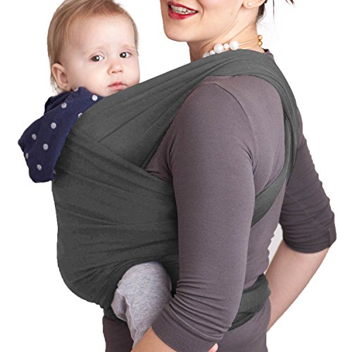 Deulia-Baby-Sling-Wrap-Carrier-for-Newborn-Infant-Toddler-Backpack-Front-Facing-Kangaroo-Sling-Positions-Soft-and-Stretchy-Baby-Carrier