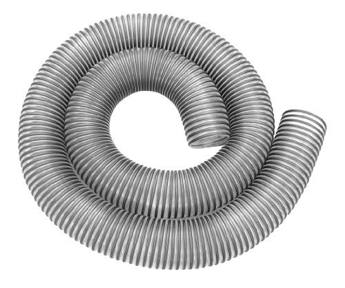 Hi Tech Duravent 11493 4-Inch By 10-Feet Clear Pvc Dust Hose With Black Plastic Helix front-616612