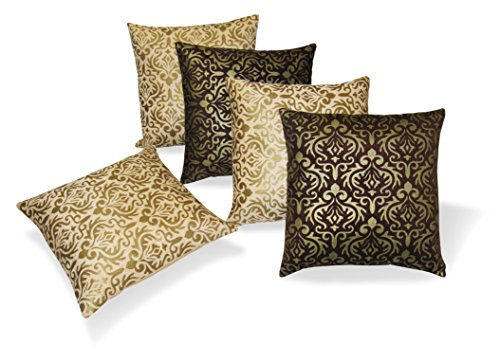 Multi Cushion Covers Set of 5 Pcs