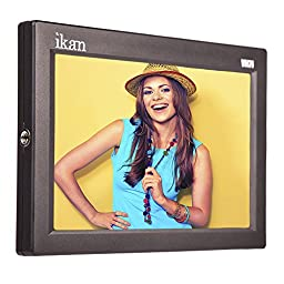 Ikan VH7i-1 7-Inch HDMI LCD Monitor with IPS Panel Includes Canon 900, Sony L, Panasonic D54 Battery Plates (Black)