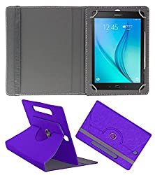 Acm Designer Rotating Case For Samsung Galaxy Tab S2 9.7 Stand Cover Purple