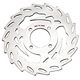 Neverland Motorcycle Front Brake Disc Rotor for Yamaha SPARKS 135 X1 R 135 Silver