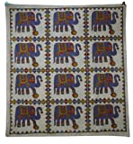 Madala Tapestry Gray Table Runner Wall Hanging Full Size Bedspread Decorative
