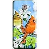 HiFi Designer Phone Back Case Cover Samsung Galaxy J7 Max :: J7Max :: Samsung J7 Max :: Samsung J7Max ( Beautiful Birds And Flowers )