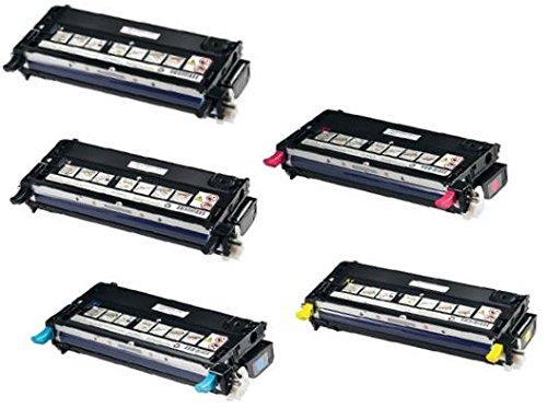 5-toners-compatibles-para-dell-3110-3110cn-3115-3115cn-negro-cian-magenta-amarillo-8000-paginas