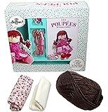 Coffret Les poupées : Avec les accessoires pour réaliser une poupée, créer une robe et confectionner les chaussures