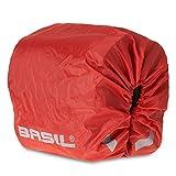 Basil Rain Cover for Sport Design Double Pannier Bag - Red,