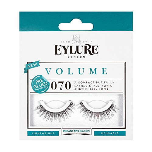 Eylure Pre-Glued Lashes, 070, 18.14 Gram