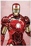 "The Avengers Iron Man 11"" X 17"" Print Autographed By Artist Tony Santiago"