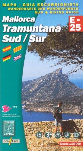 Mallorca: Tramuntana Sud Map and Hiking Guide