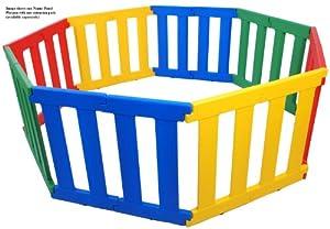 TikkTokk Nanny Panel Playpen (Multi-Coloured) from TikkTokk