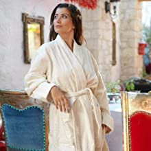 Natural Undyed Luxury Robe
