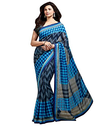 Vishal Border Work Saree (Vishal-3186 _Multi-Coloured_Free Size)
