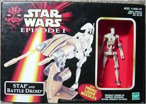 Star Wars Episode 1 Stap and Battle Droid