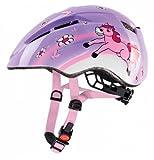 UVEX Kid II Children's Bicycle Helmet Multi-Coloured Ponny Size:46-52