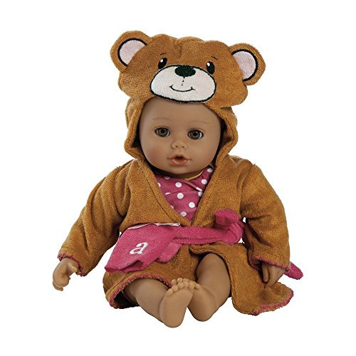 Adora-BathTime-Bear-13-Girl-Washable-Play-Doll-with-OpenClose-Eyes-for-Children-1-Soft-Cuddly-Huggable-QuickDri-Body-for-Water-Fun-Toy