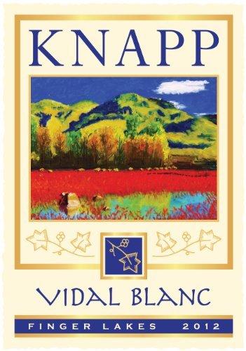 2013 Knapp Winery Cayuga Lake Vidal Blanc 750 Ml