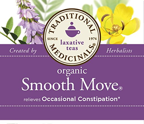 032917000095 - Traditional Medicinals Organic Smooth Move Tea, 16 Tea Bags (Pack of 6) carousel main 6