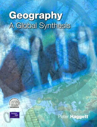 peter haggett geography a modern synthesis pdf