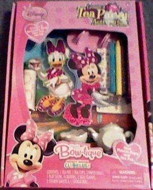 Disney - Minnie Mouse Bow-Tique - Create A Tea Party Activity Set {Nib}