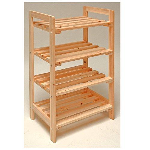 dema holzregal 4 b den 45x33x79cm. Black Bedroom Furniture Sets. Home Design Ideas