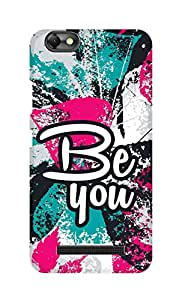 SWAG my CASE Printed Back Cover for Lenovo Vibe C (A2020)