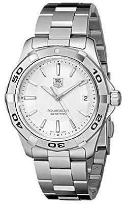 TAG Heuer Men's WAP1111.BA0831 Aquaracer Silver Dial Watch