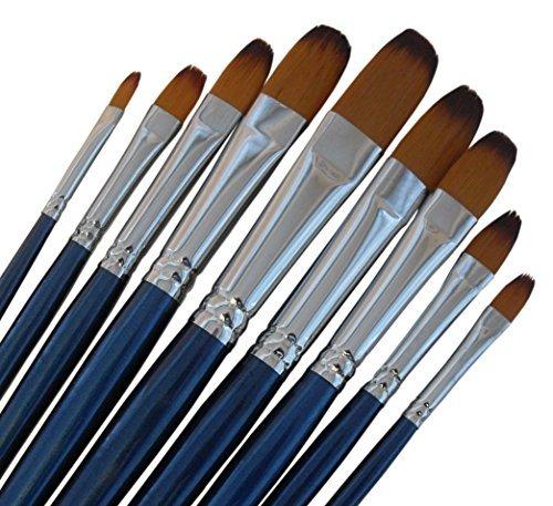 artist-paint-brushes-fr-professional-quality-black-tip-golden-nylon-long-handle-filbert-paint-brush-