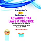 Lawpoint's CS Solutions Advanced Tax Laws & Practice A.Y. 2015-16
