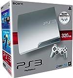 echange, troc Console PS3 320 Go argent + 2 Manettes PS3 Dual Shock 3 - argent