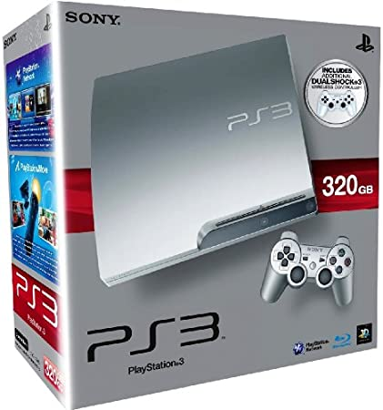 PlayStation 3 Consola 320GB Silver+DS3 Silver