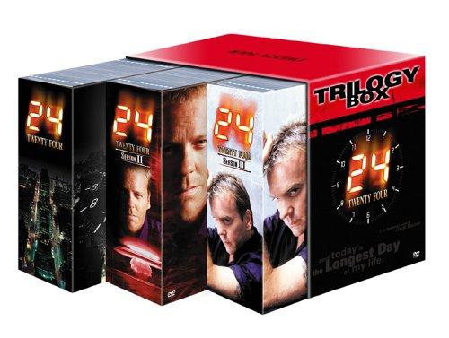 24 -TWENTY FOUR- トリロジーBOX (初回限定生産) [DVD]