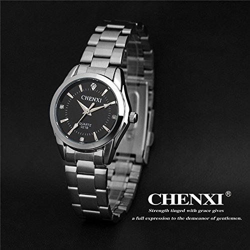 5 Fashion colors CHENXI CX021B Brand relogio Luxury Women's Casual watches waterproof watch women fashion Dress Rhinestone watch. (Excalibur Invicta compare prices)