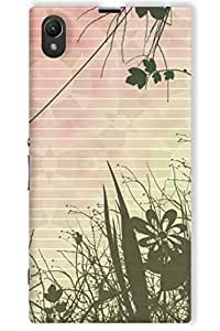 IndiaRangDe Case For Sony Xperia Z1 Printed Back Cover