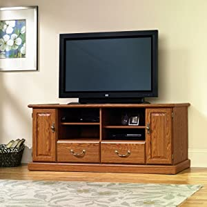 Orchard Hills Widescreen TV Credenza Carolina Oak