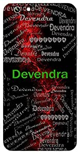 Devendra (King Of Gods) Name & Sign Printed All over customize & Personalized!! Protective back cover for your Smart Phone : Samsung Galaxy A-3