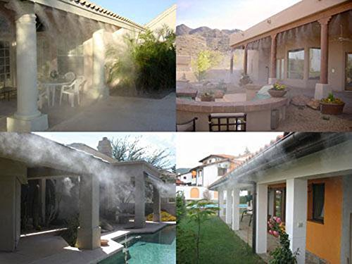 Parts Of A Patio Misting System : M ft garden outdoor patio home misting cooling