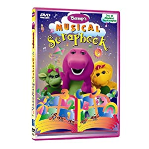 Amazon Com Barney S Musical Scrapbook Barney Movies Amp Tv