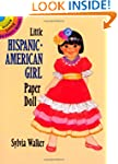Little Hispanic-American Girl Paper D...