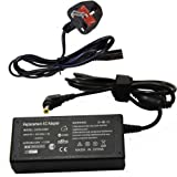 Laptop Charger adapter FOR ADVENT Laptop Eclipse E300 E200 Modena M100 Sienna 510 Battery charger AC Adapter with UK Power cord