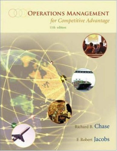 Operations Management: For Competitive Advantage