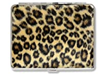 Leopard Cigarette ID Billfold Faux Fur Case