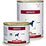 Royal Canin Hepatic Canine Wet 12 cans each with 420 grams