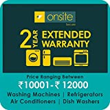Onsite 2-year extended warranty for Large Appliance (Rs. 10001 to < 12000)