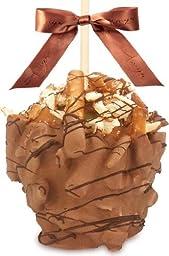 Pretzel Turtle Caramel Apple w/ Milk Belgian Chocolate