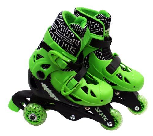 elektra-rollers-para-ninos-tamano-9-color-verde-h-grossman-sv10739