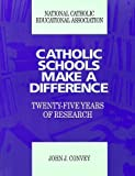img - for Catholic Schools Make a Difference: Twenty Five Years of Research by John J. Convey (1992-12-01) book / textbook / text book