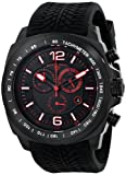 Swiss Legend Mens 21046-BB-01-RDA Sprinter Analog Display Swiss Quartz Black Watch