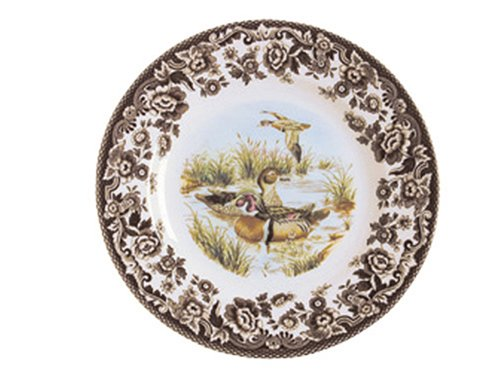 Buy Spode Woodland Game Birds 10-Inch Dinner Plate, Wood Duck